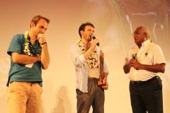 Walles Kotra interroge les réalisateurs du grand prix du jury : Ophir.