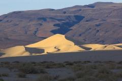 Vue sur Eurêka Dunes.