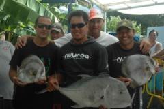 Teva et Tepou auront mis tout le monde d'accord avec leur pêche exceptionnelle