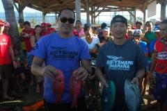Steeve TETUANUI et Teiva MOU grâce à une bonne pêche durant la dernirèe manche s'adjuge le titre de champion de Polynésie 2015