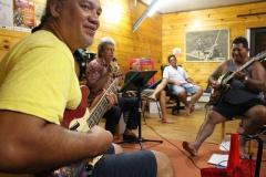 Répétition pour le spectacle de Gabilou Barefoot Boys V2.