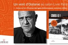Dédicace au salon du livre de Paris. Patrice Guirao pour sa série Al Dorsey.