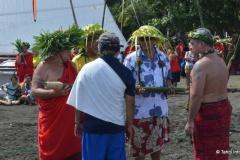 Les amis de Hokulea ont présenté les urgences environnementales de la Polynésie au ministre Heremoana Maamaatuaiahutapu