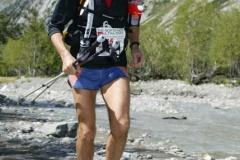 Patrick Cande  au Tour du Mont Blanc en France en 2007.
