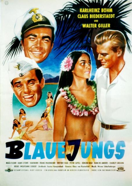 """Affiche du film """"Blaue jungs""""."""