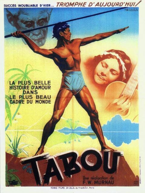 """Affiche du film """"Tabou""""."""