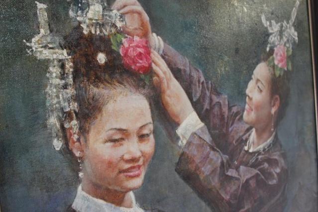 Oeuvre de Fu Xiaolan.
