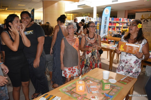 Ce jeu inventé par les Amis du Musée de Tahiti et des îles permet de découvrir la culture polynésienne