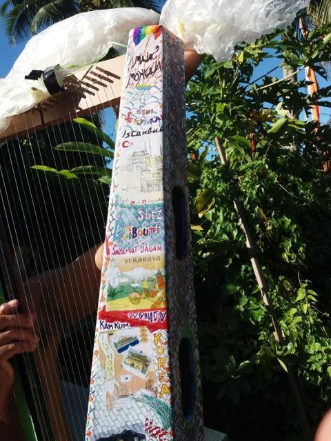 Pro harpe personnalisée.