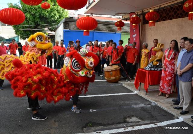 k-Après le temple, les lions se sont rendus au Si Ni Tong