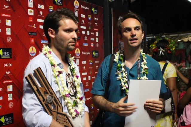 Alexandre Berman et Olivier Pollet, réalisateurs d'Ophir.