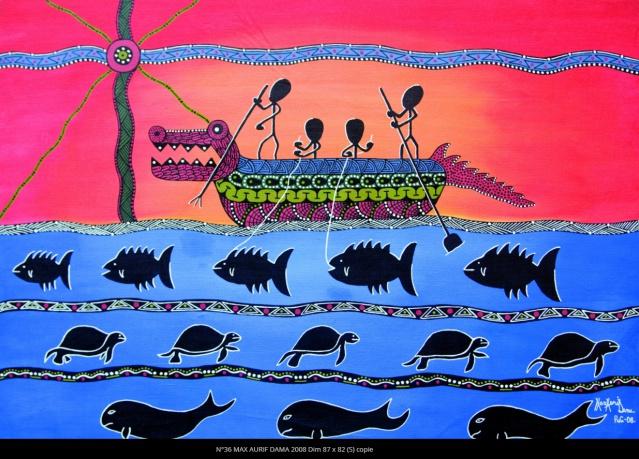 Tiré du livre Le Trottoir magique du clan Kauage paru chez Au Vent des îles.