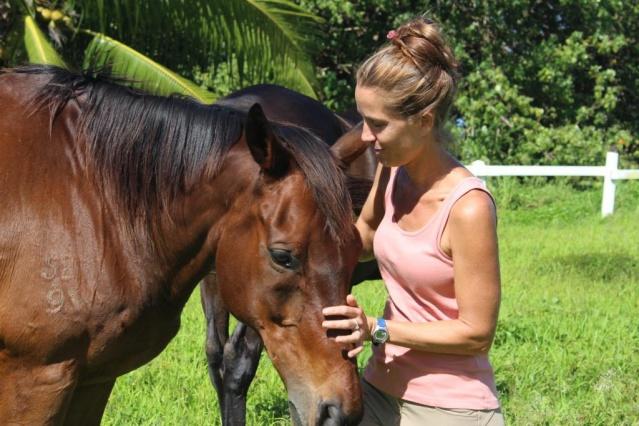 Jessica Deschamps à Mataiea.