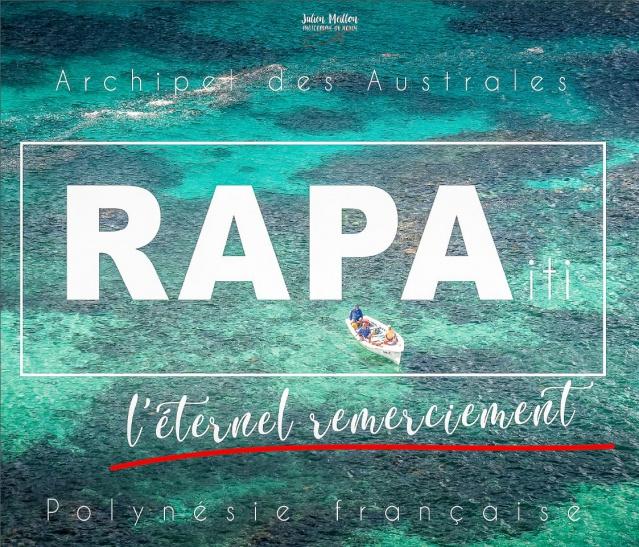Couverture du livre Rapa iti, l'éternel remerciement.