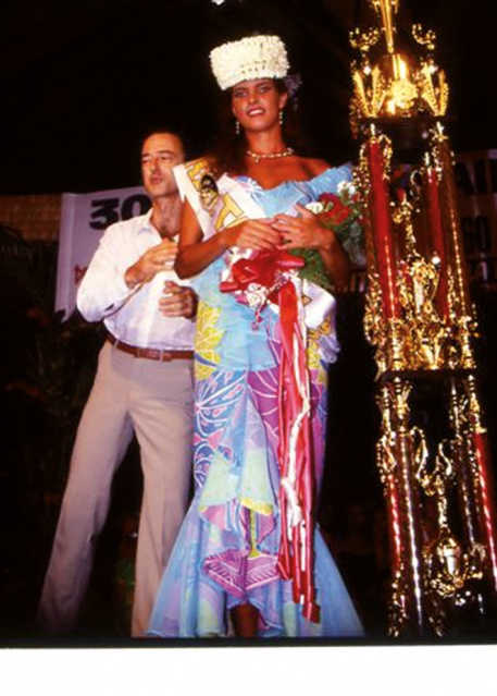 miss Tahiti 1990 : Mareva Georges