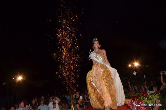 Élection Miss Tahiti.