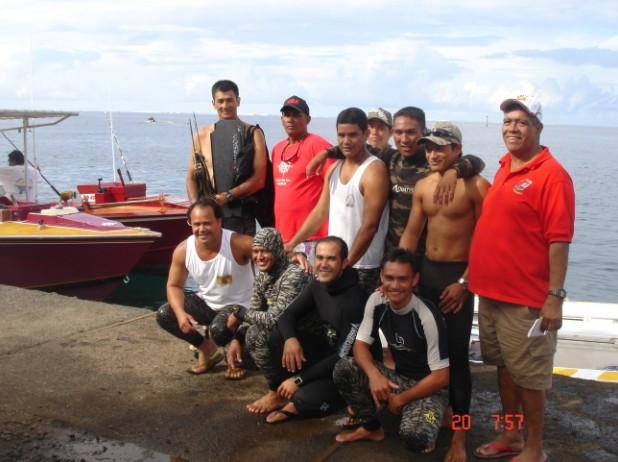 En 2009, il encadrait les jeunes de la presqu'île avec Alféo pour les jeux des îles du vent