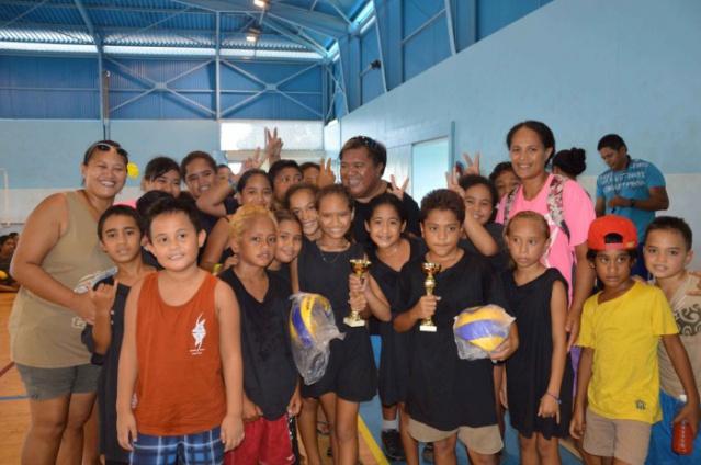 Les équipes filles et garçons de Pamatai sont arrivées deuxième de ce tournoi