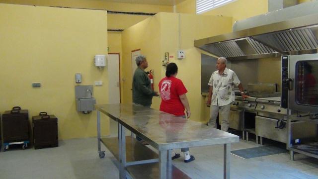 La nouvelle cuisine centrale de Rimatara. Elle a été inaugurée le 12 juin dernier.