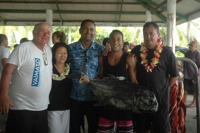 Les VERGHNES ont organisé le mémorial Tom HOPARA le samedi 9 janvier et ont sorti la plus grosse prise du championnat (uruati de 19 kilos)