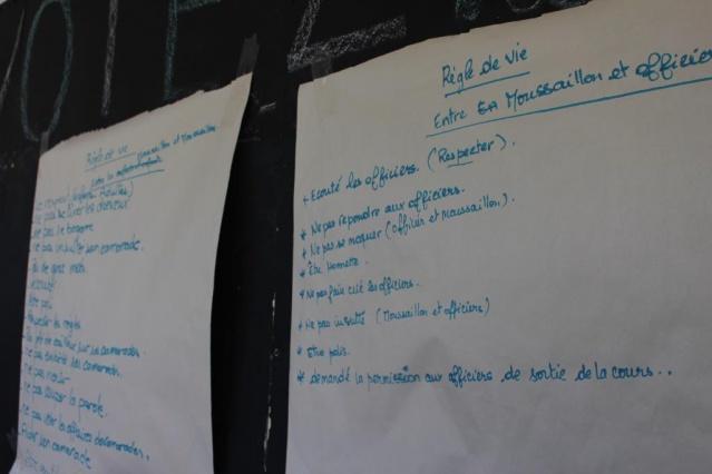 Les organisateurs travaillent à la réussite éducationnelle (l'apprentissage du savoir, du savoir être et du savoir-faire).