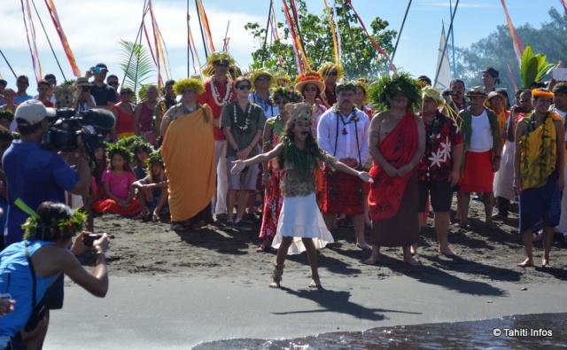 Hokulea, maeva (côté plage)