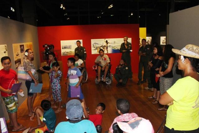 Matinée au Musée des îles, visite de l'exposition temporaire et atelier dans les jardins.