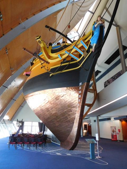 Au musée australien.